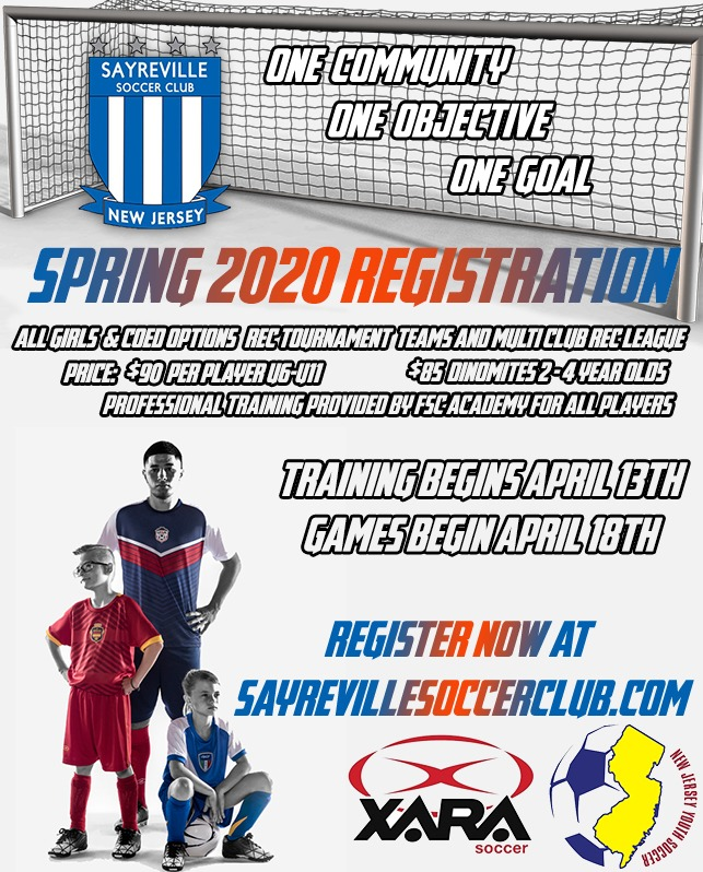 Spring 2020 Registration is now open!