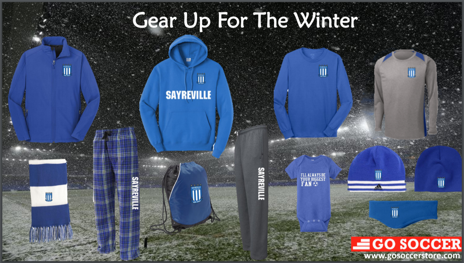 FanWear Now Available Year Round!